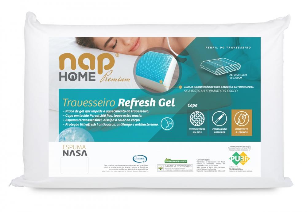 Travesseiro nap Home Premium Gel
